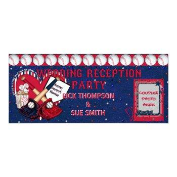 baseball ticket reception invitation-template invitation