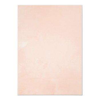 Small Blush Pink And Gold Floral Online Virtual Wedding Invitation Back View