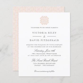 chic tiles  elegant timeless budget wedding