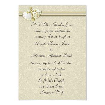 christian wedding invitation