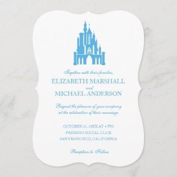 cinderella wedding | castle invitation