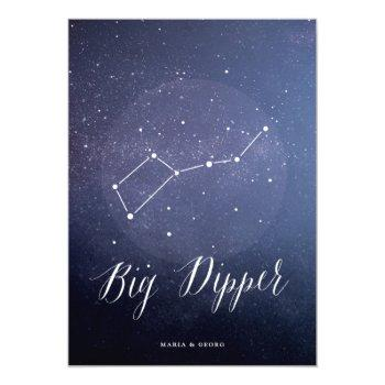 constellation celestial table number big dipper