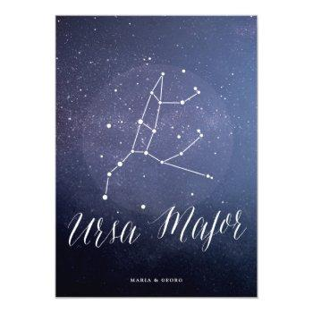 constellation celestial table number ursa major