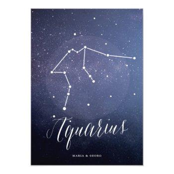 constellation star celestial table number aquarius