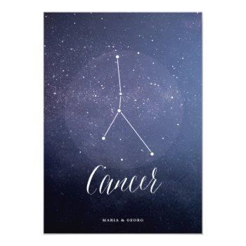 constellation star celestial table number cancer