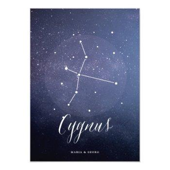 constellation star celestial table number cygnus