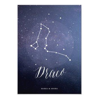 constellation star celestial table number draco