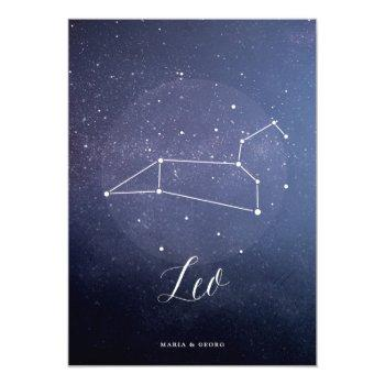 constellation star celestial table number leo