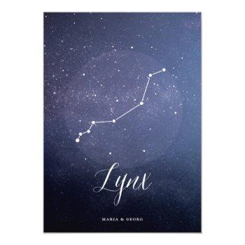 constellation star celestial table number lynx