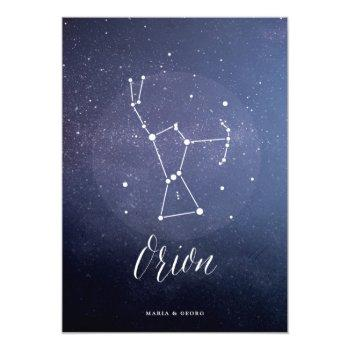 constellation star celestial table number orion