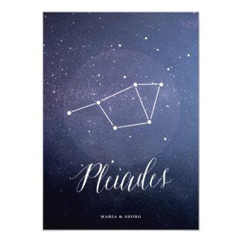 constellation star celestial table number pleiades
