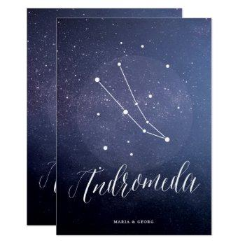 constellation star table number andromeda