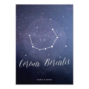 constellation star table number corona borealis
