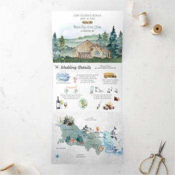 cowichan valley | vancouver island tri-fold