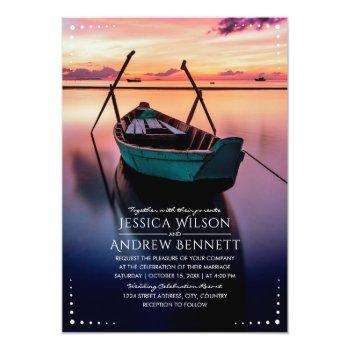 Small Destination Wedding Invitations Your Resort Image Front View