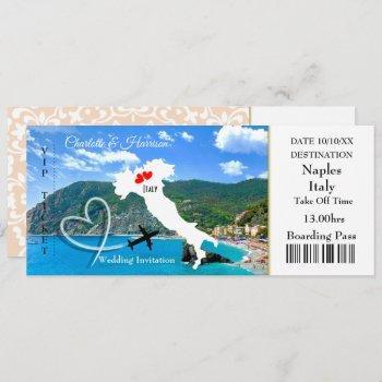destination wedding italy europe invitation