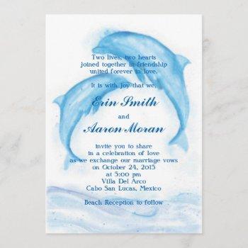dolphin invitations