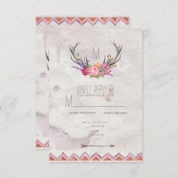 floral | rustic wedding wedding program