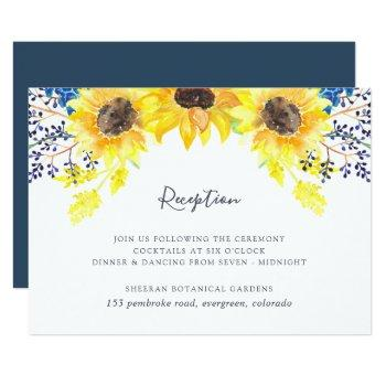 flowerfields reception card