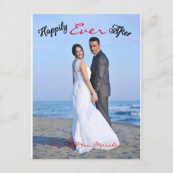 happily ever after photo - post card