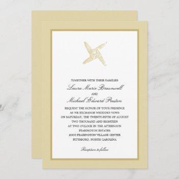 irish st. brigid's cross wedding invitation