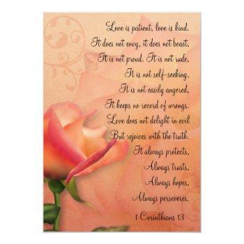 krw 1 corinthians 13 love is patient invitation