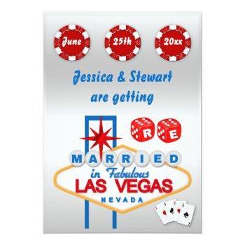 las vegas renewal of  wedding vows invitation