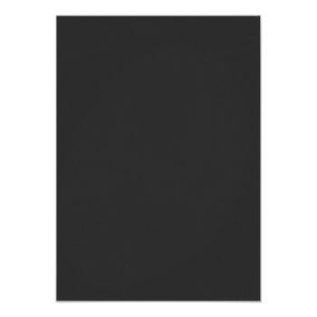 Small Live Stream Virtual Wedding Gray Floral Monogram Invitation Back View
