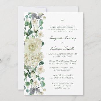 megan invitacion de boda cristiana wedding  invitation