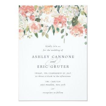Small Midsummer Wedding Invitation Front View
