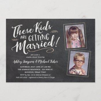 old photos wedding shower invitations handwritten