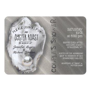 oyster roast couples shower invitation