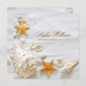 pixdezines seashell/beach invitations/diy invitation