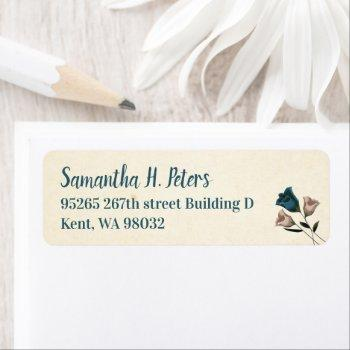 return address label sheet