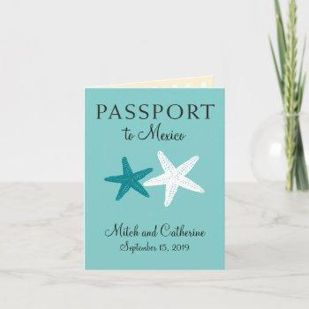 riviera maya mexico   passport invitation