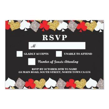 rsvp wedding las vegas casino respond cards