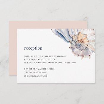 seaside reception enclosure card