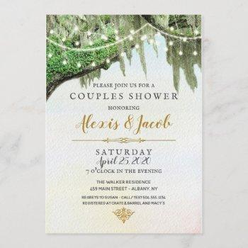 southern wedding invitations, moss invitations