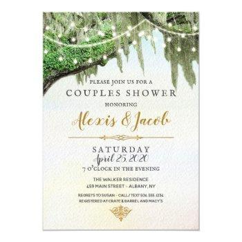 southern wedding invitations, moss invitations