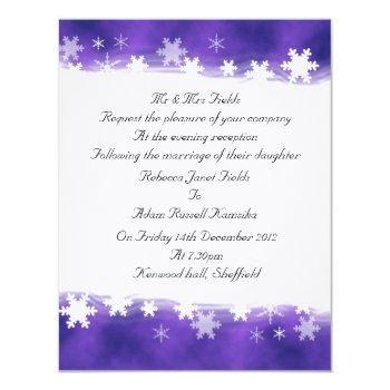 special evening invite