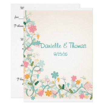 wedding advice, elegant, watercolor comment cards