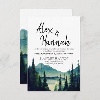 wedding reception only invitation