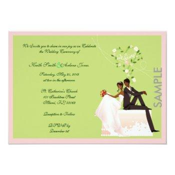 wedding sample invitation