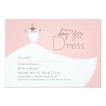 yes to the dress invitation